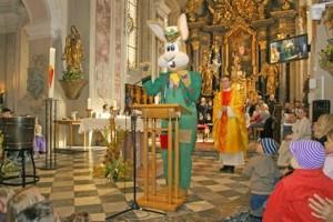 coniglio chiesa